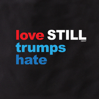 Love Still Trumps Hate Tote