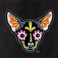 Cali Chihuahua Black Tote