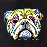 Cali English Bulldog Tote