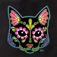 Cali Cat Black Tote