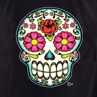 Cali Floral Sugar Skull Tote