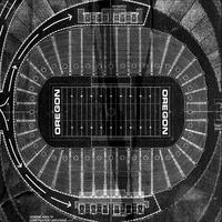 Autzen Stadium Plan Tote
