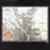 Portland Map Tote