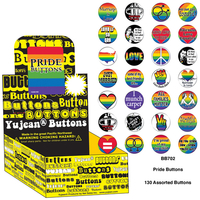 Gay Pride Button Box