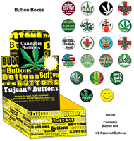Cannabis Button Box