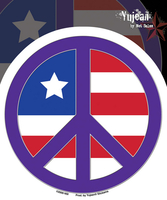 Peace Flag Sticker