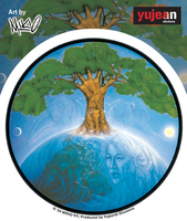 Mikio Living Planet Sticker