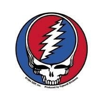 Mini Grateful Dead Steal Your Face Sticker