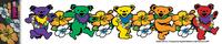 South Pacific Grateful Dead Dancing Bears Sticker