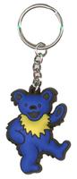 Grateful Dead Dancing Bear Keychain - Blue
