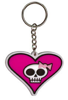 My Sweet Fiend Rubber Keychain