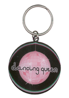 Dancing Queen Metal Pride Keychain