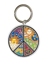 Dan Morris Peace Keychain