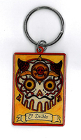 El Diablo Key Ring