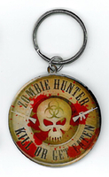 Zombie Hunter Key Ring