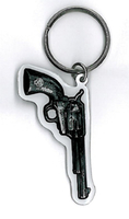 Hot Leathers Gun Key Ring