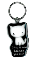 Evilkid Kitty Suck keyring