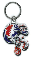 Melting Steal Your Face Keyring