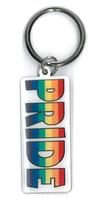 Rainbow Pride Keyring