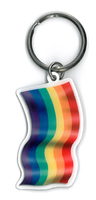 Rainbow Flag Keyring