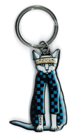 Pretty in Ink Gato Cholo Keyring