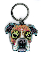 Pretty in Ink Boxer Keyring