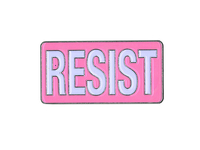 Pink Resist Enamel Pin