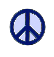 Peace Sign Enamel Pin