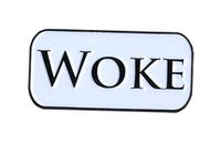 Woke Enamel Pin