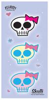 Sweet Skullis Sticker