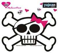 Skulli Pirate Sticker