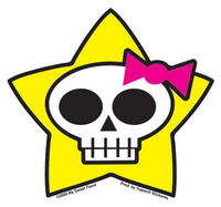 Star Skulli Sticker