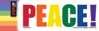 Pride Word Peace Sticker