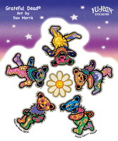 Grateful Dead Daisy Bears Sticker