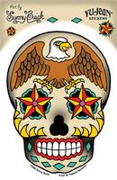 Sunny Buick Eagle Sugar Skull Sticker