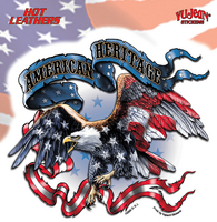 Hot Leathers American Heritage Biker Sticker