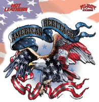 Hot Leathers American Heritage Biker Sticker