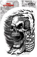 Hot Leathers Assassin Biker Sticker