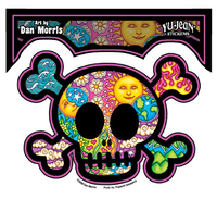 Dan Morris Cute Skull Sticker