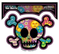 Dan Morris Cute Skull Sticker