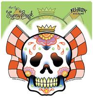 Sunny Buick Racing Skull Sticker