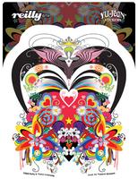 Reilly Dark Heart Sticker