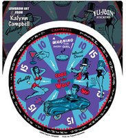 Kalynn Campbell Lowbrow Wolf Gameboard Sticker