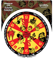 Kalynn Campbell Lowbrow Mystery Spot Gameboard Sticker