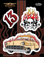Vulture Kulture Racing 6x8 Sticker