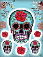 Sunny Buick Sugar Skull 6x8 Sticker