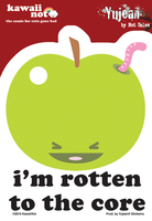 Kawaii Not Rotten to the Core Sticker