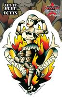 Adam Potts Man's Ruin Roller Derby Sticker