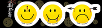 Have A Killer Day Smiley Face Sticker