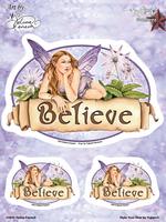 Selina Fenech Believe Fairy 6x8 Sticker